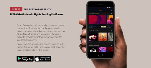 Zeptagram Will Empower Musicians by Allowing Them to OWN Their Publishing Rights