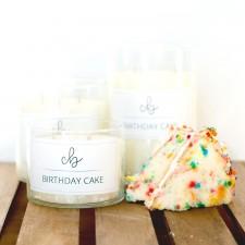 Birthday Cake - Palm Wax Candle