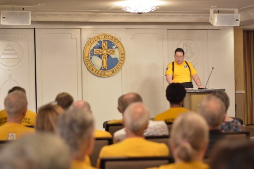 Founding Church of Scientology Hosts Disaster Response Open House