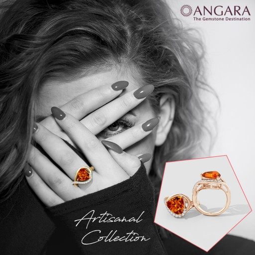 Angara.com Launches New Jewelry Collection Named 'Artisanal'