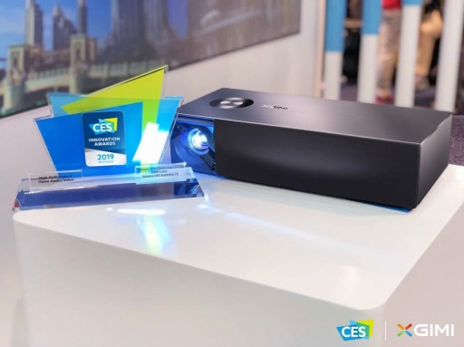 XGIMI's New Product Makes Its International Debut at CES 2019