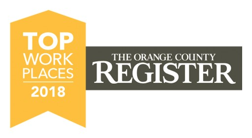 Reborn Cabinets Recognized as One of Orange County's Top Places to Work for 2018