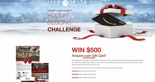 Delta Media's Creative Studio Available Free to Real Estate Agents and Teams Using DeltaNET 6