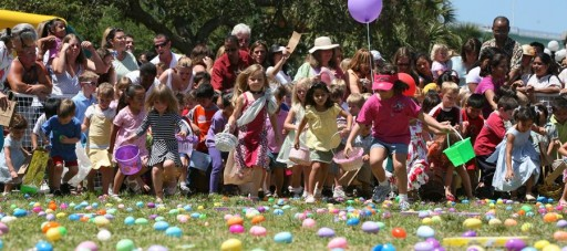 Jubilant Easter Egg Hunts Coachman Park for 24 Years