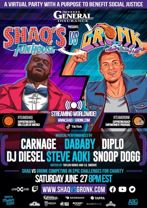 The General Insurance Presents Shaq's Fun House vs Gronk Beach
