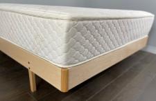 FloBed on Ergonomic Hard Maple Bed Frame