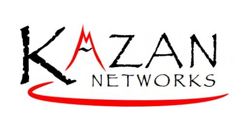 Kazan Networks to Demonstrate World's Fastest Networked EBOF