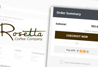 Rosetta Coffee's Cryptocurrency Checkout Option