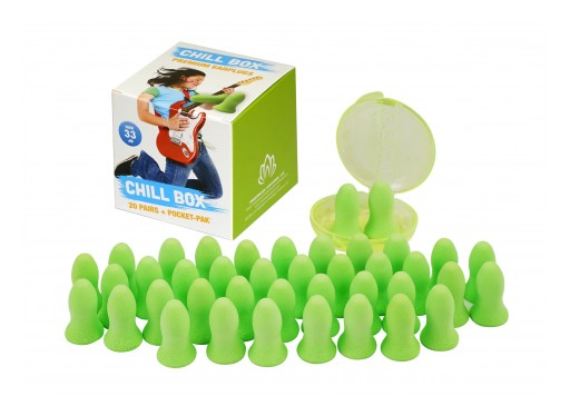 Get Peaceful Sleep and Studying  at College With Chill Box Ear Plugs