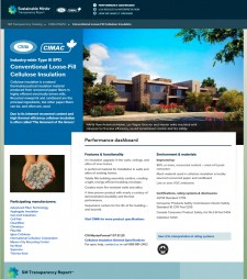 Sustainable Minds Cellulose Insulation EPD