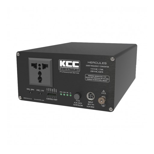 Finally Power and Enjoy Vintage Electronics From Around the World With KCC Scientific Frequency Converters