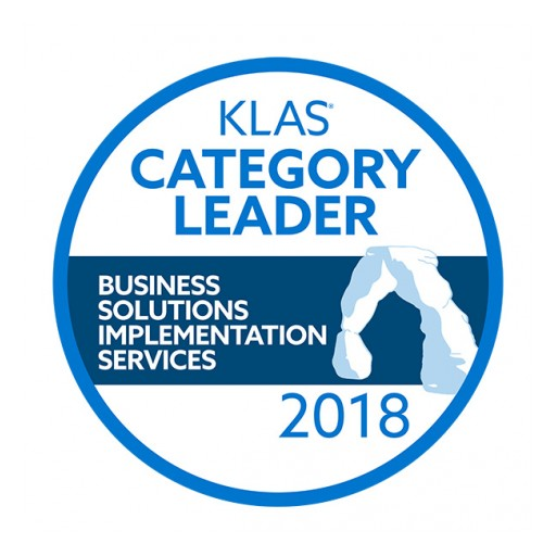 ROI Named KLAS Category Winner for Business Solutions Implementation Services in 2018