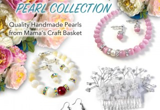 Timeless Treasures Pearl Collection Products, by Mama's Craft Basket