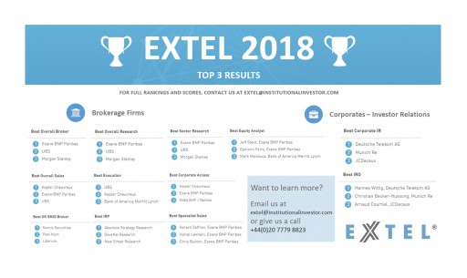 Extel Announces 2018 Results