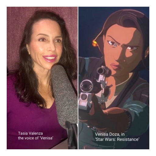 Tasia Valenza Joins Cast of 'Star Wars: Resistance' as the Voice of 'Venisa Doza'