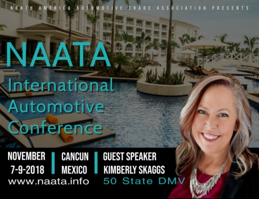 50 State DMV CEO to Speak at International Automobile Conference