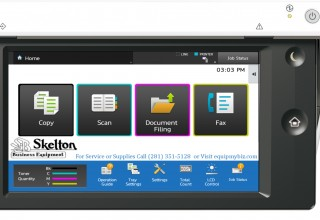 Skelton's Touch Screen Interface