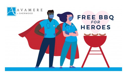 Avamere at Sherwood Hosts Free Drive-Thru BBQ for Essential Workers