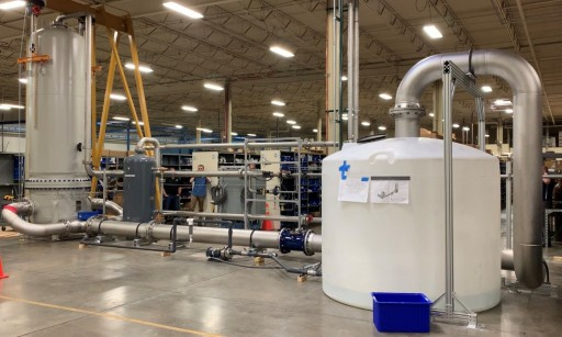 Norman Filter Company Introduces a Newly Constructed High Flow Test Stand for Aerospace Applications