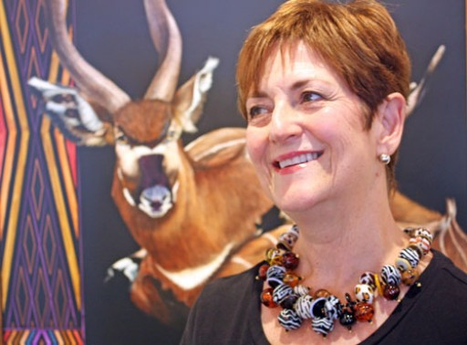 Award Winning Designer Lyn Foley Launches Her New  Safari Collection of Glass Necklaces and Earrings