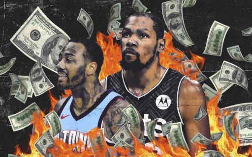 Kevin Durant Was the Most Overpaid Basketball Player in 2020-2021, New Study by Lines.com