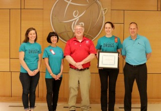 Drug-Free World volunteers acknowledged for their dedication and hard work
