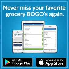 Never miss your favorite grocery BOGO's again!