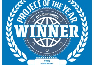 Inclined Elevator Project of the Year