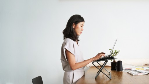 Redefining the Workspace in 2020 With Rizr - the World's First 2-in-1 Portable Standing Desk and Laptop Case
