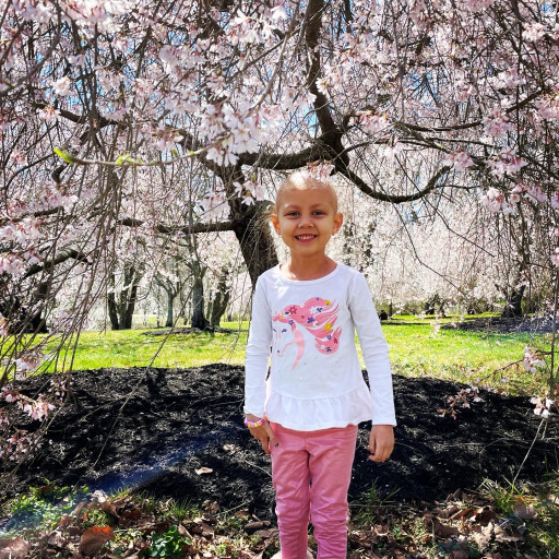Courageous 5-Year-Old Maddie Fell's Poise in Her Fight Against Cancer Inspires San Diego Attorney Gordon Levinson to Give Grant for Cancer Research