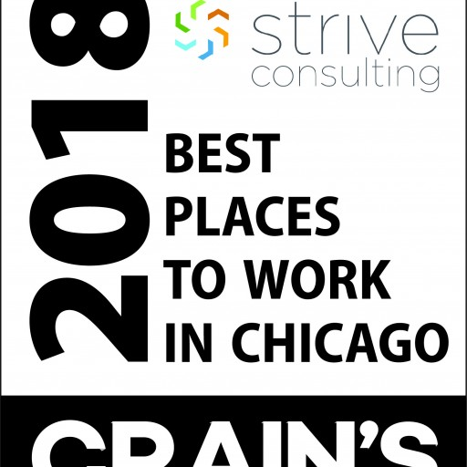Strive Consulting Named One of the Best Places to Work in Chicago