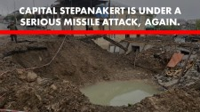 Capital Stepanakert is under serious missile attack, again.