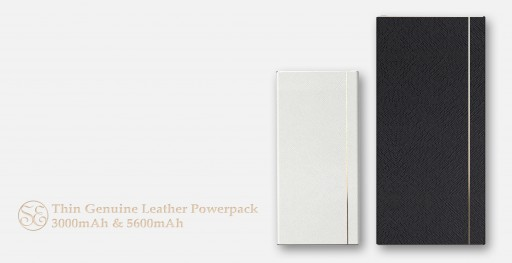 The Leather Powerpack by Superease Is Being Introduced to the Public via a Kickstarter Campaign