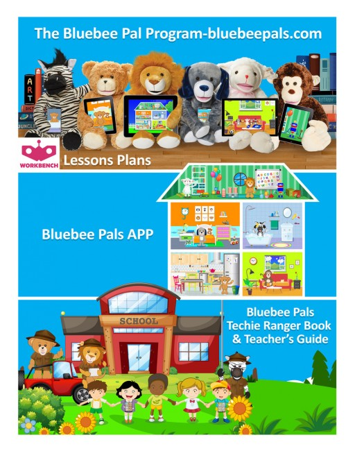 Bluebee Pals Interactive Plush Learning Tool With Companion App Introduces the Bluebee Pal Program for Early Childhood and Special Education