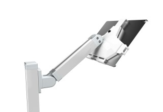 Tryten Nova Neo NICU Telehealth Cart T2910 - Locking tablet bracket and hinge