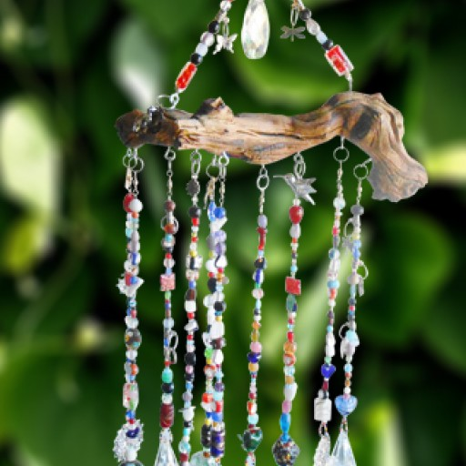 Simply Fabulous Handmade Introduces a New Summer Crystal Charm Collection of Handcrafted Wind Chimes and Sun Catchers