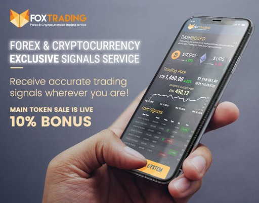 After Early Success, Cryptocurrency and Forex Specialists at Fox Trading Launch Main Sale ICO