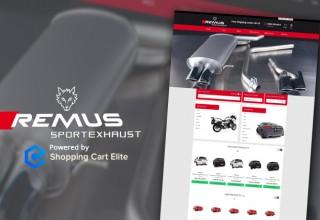 RemusExhaustStore.com Logo