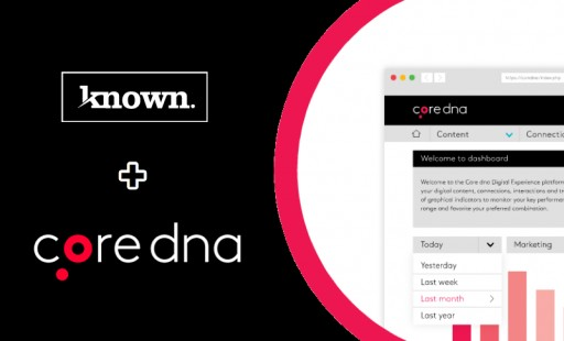 known.creative Launches Into Digital with the Core dna DXP Platform