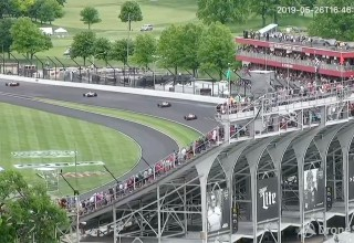 Indy 500 live video feed from DroneSense OpsCenter