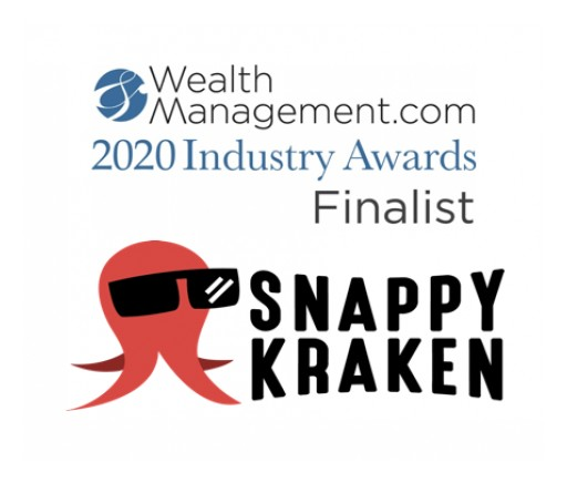 Snappy Kraken Named 2020 Award Finalist in 3 Innovation Categories