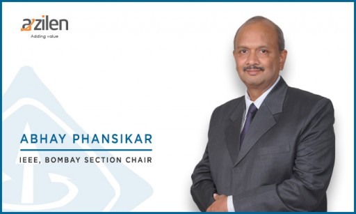 Abhay Phansikar, Director at Azilen Technologies is Now IEEE Bombay Section Chair