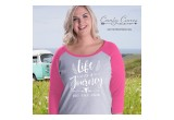 Comfy Curves Ladies Baseball Tee