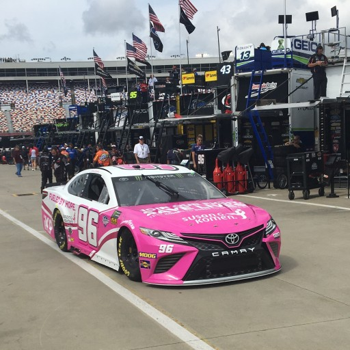 Xtreme Concepts No. 96 Susan G Komen Toyota Driven by Jeffrey Earnhardt Will Stand Out in Pink