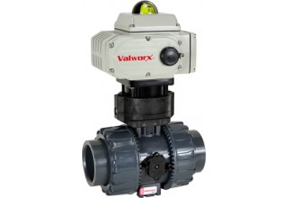 New 5618a Electric Actuator with PVC Ball Valve