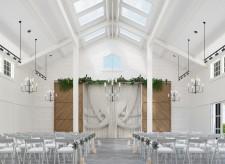 Rendered Image for Modernized Chapel Renovation
