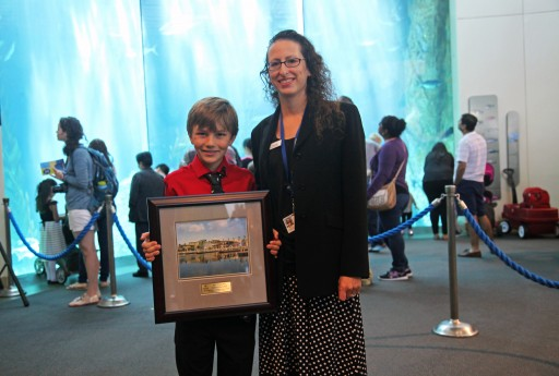 Ten-Year-Old Microactivist Receives Aquarium of the Pacific's 2017 Young Hero Award
