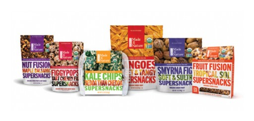 Made in Nature Unleashes Its Full Line of New Organic Supersnacks™