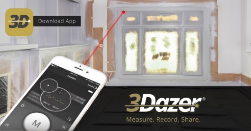 3Dazer Disrupts the Home Improvement Marketplace With the Launch of the First Hand-Held Laser Measurer Attachment and Award-Winning Project Management App for Smartphones