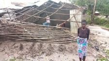 Hurricane Idai destroyed homes in Mozambique Care for Life village